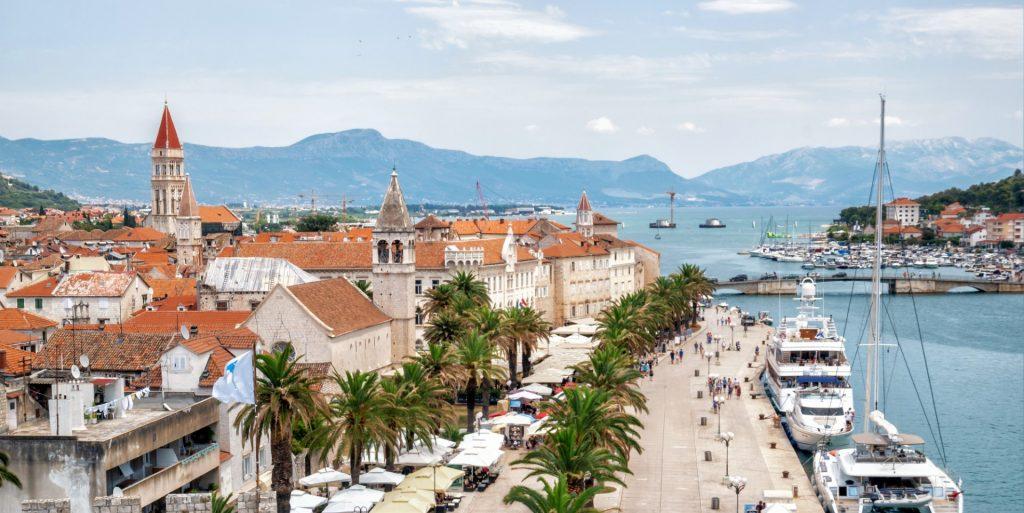 old town trogir dalmatia croatia europe Large